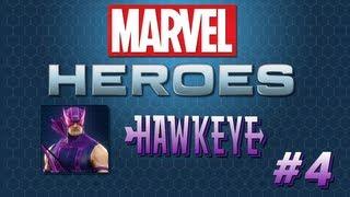 Marvel Heroes HAWKEYE #4