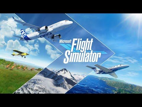 Microsoft Flight Simulator 2020 petit tour en savoie