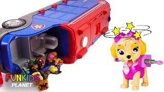 Learning Videos for Children: Paw Patrol Skye & Chase Crash Mission Cruiser Doc McStuffins Rescues