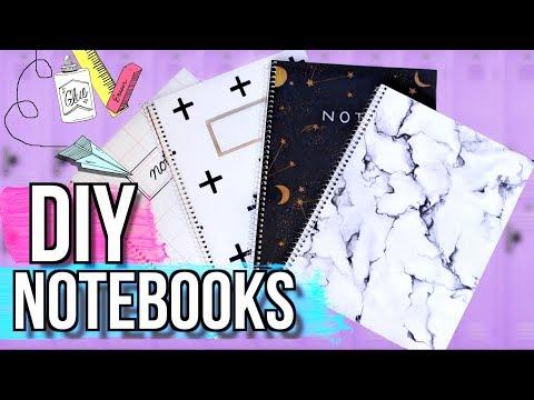 DIY Notebooks for Back to School! | JENerationDIY