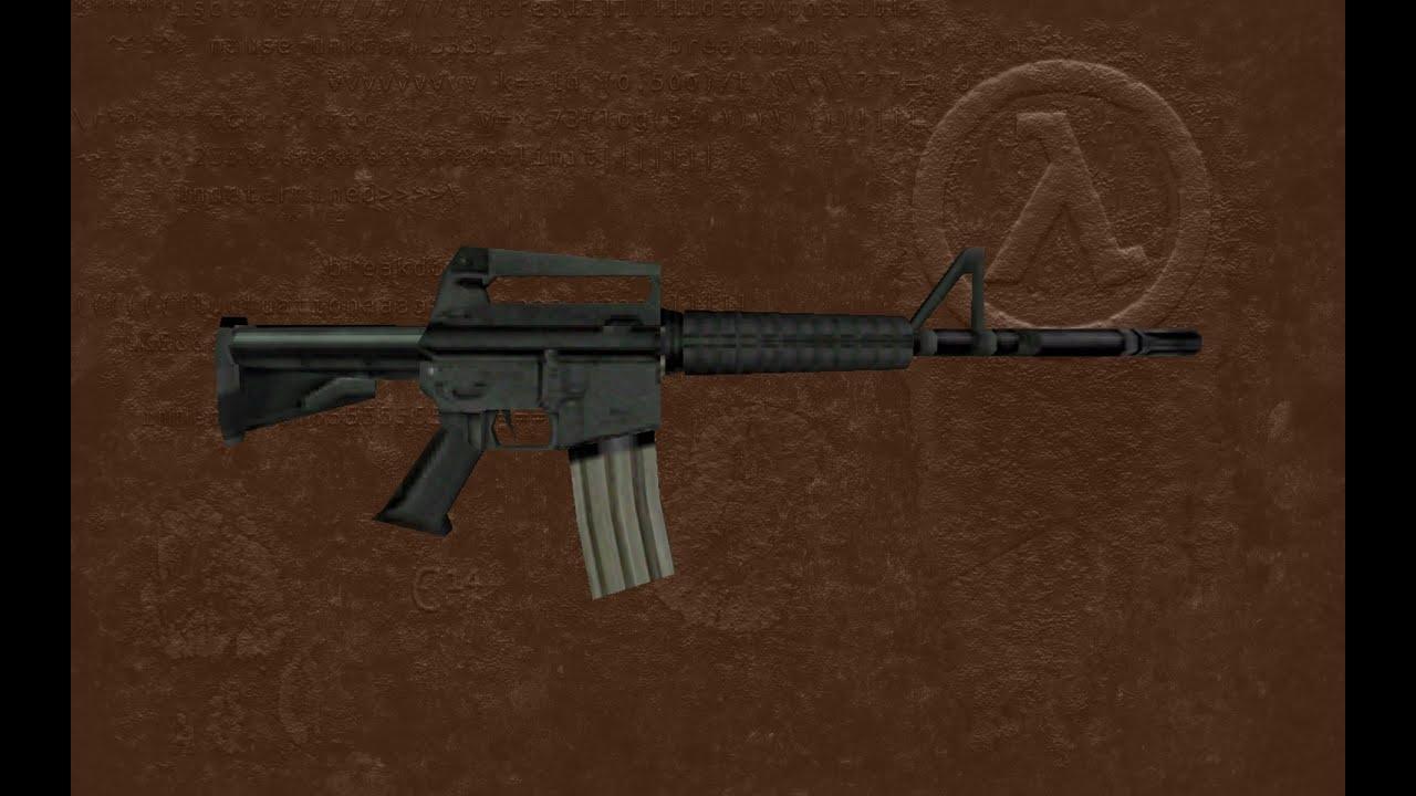 HL Assault Rifle for CS [Counter-Strike 1 6] [Skin Mods]