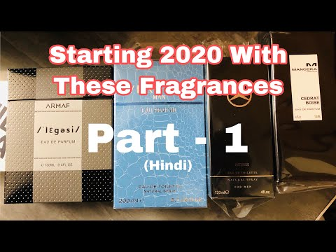 Starting 2020 With These Fragrances Part 1   Man In One Review Channel