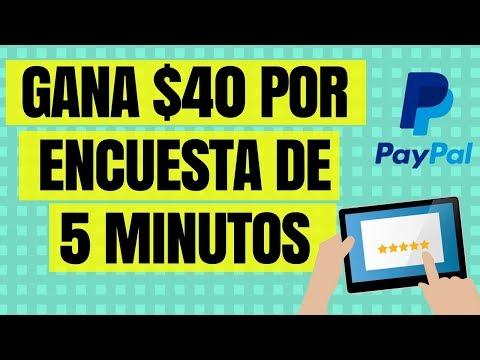 ✅ PAGINA QUE PAGA HASTA $40 DOLARES POR ENCUESTA DE 5 MINUTOS - DINERO EN INTERNET