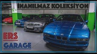 VLOG - Muhteşem Koleksiyon - BMW E30 M3 Cabrio, Z1, Ferrari ler, Porsche ler !