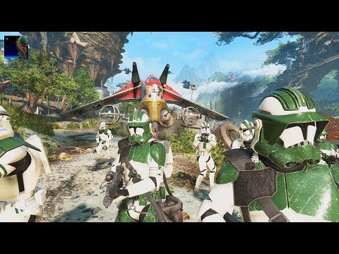 Star Wars Battlefront II - Galactic Assault Gameplays PS4 (No Commentary)