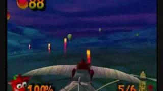 crash bandicoot the wrath of cortex 106 all platinums part 2 tornado alley