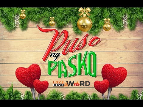 Puso ng Pasko Day 1 LIVESTREAM: Lahat ay posible kay Hesus!