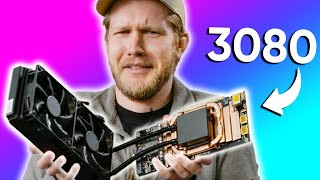 I took a 3080 eGPU apart!!! - Aorus Gaming Box