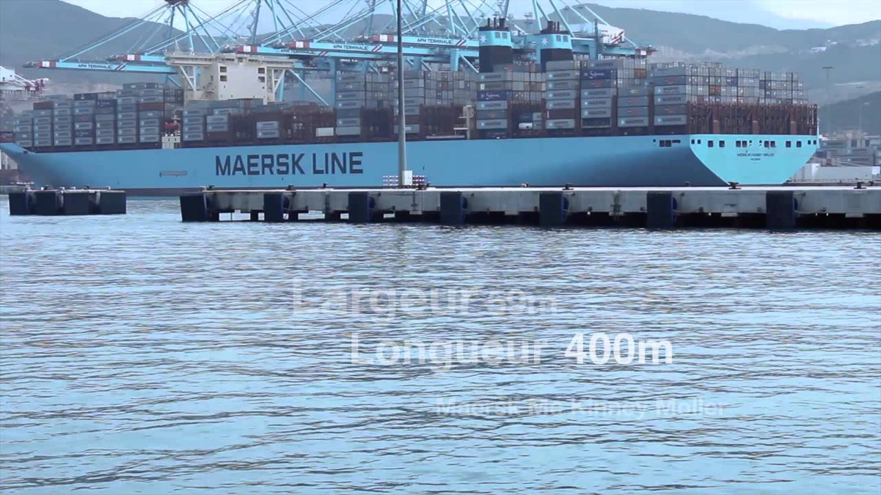 apm terminals tangier welcomes m  v maersk mc