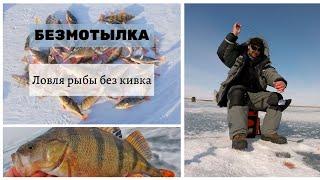 БЕЗКИВКОВКА Техника ловли рыбы на безнасадочные мормышки без кивка