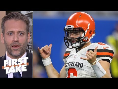 Baker Mayfield is the best QB from the 2018 NFL draft class - Max Kellerman | First Take