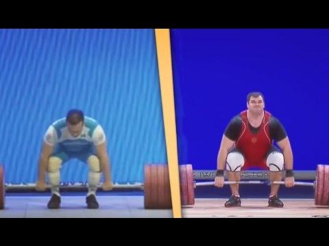 All World Weightlifting Records — Men (2015) / Все мировые рекорды. Тяжелая атлетика