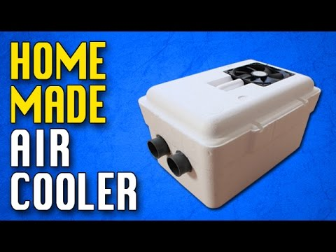 homemade air conditioner diy homemade air cooler youtube. Black Bedroom Furniture Sets. Home Design Ideas