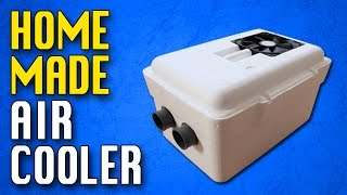 Homemade Air conditioner DIY Homemade air cooler