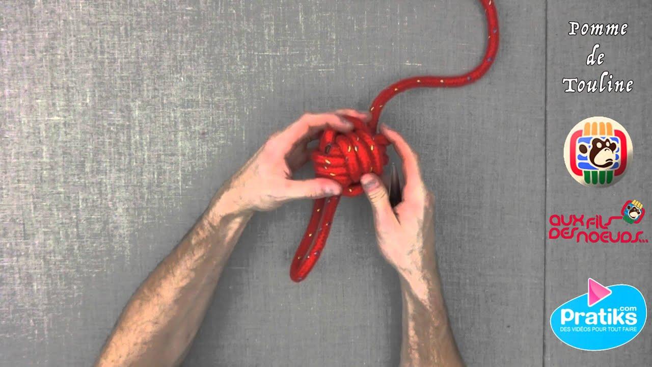 Comment realiser un noeud marin la pomme de touline - Comment detartrer une pomme de douche ...