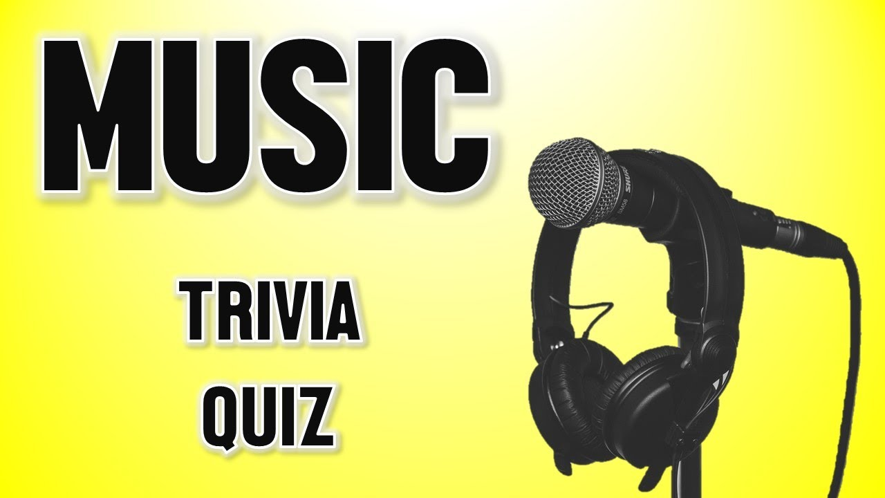 Music Quiz - 10 Music Questions and Answers - YouTube