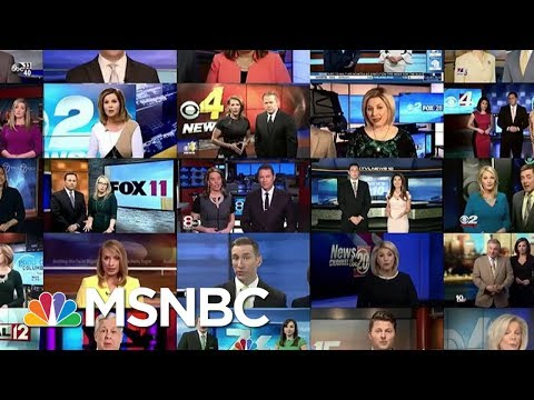Sinclair Responds To Script Controversy | Morning Joe | MSNBC