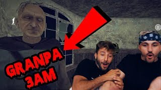 DONT PLAY GRANPA HORROR GAME AT 3 AM | SECRET HACK FOUND!