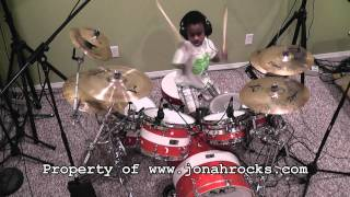 System of a Down - Aerials, 6 Year Old Drummer, Jonah Rocks