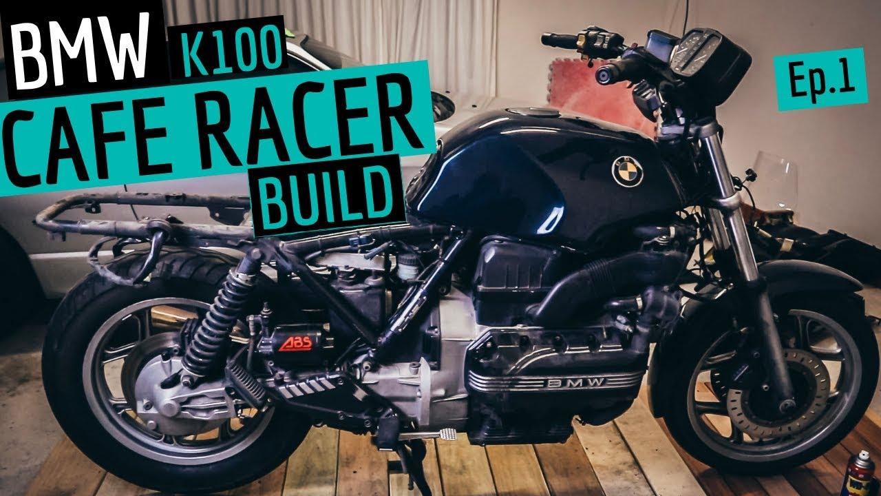 BMW Cafe Racer Build K100 - Ep 1