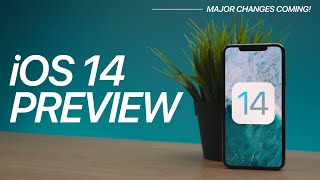 iOS 14 Preview! Major Changes Coming! Video