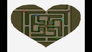 Warcraft 3 | GREEN CIRCLE TD LOVE | DAEMON TOWER