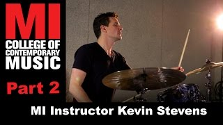 MI Drum Instructor Kevin Stevens Has Tips to Improve Your Playing