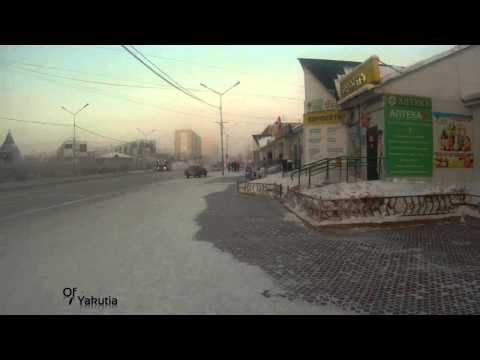 Of Yakutia : Having a walk in the coldest city on earth -40 Celsius