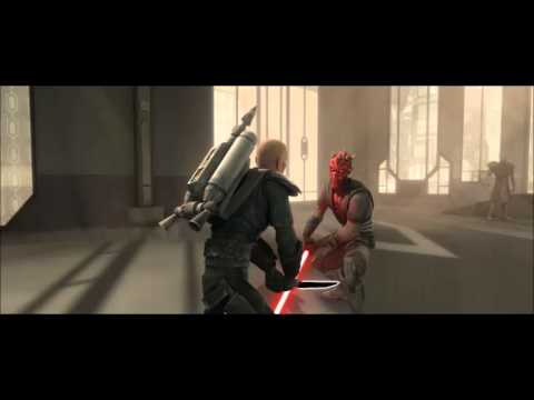 The Clone Wars Soundtrack - Pre Vizsla VS Darth Maul Rip