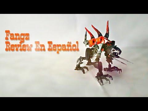 Lego Hero Factory Fangz Review En Español Neon Crack Youtube