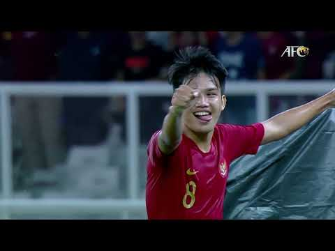 #AFCU19: Witan Sulaeman's goal that carries Indonesia all the way to the quarter-finals