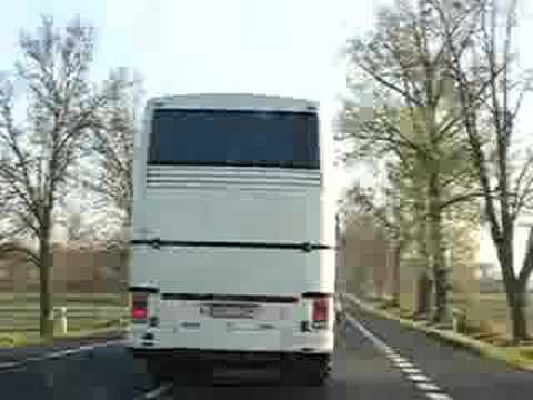 Fuckin buses from german drive on polish roads