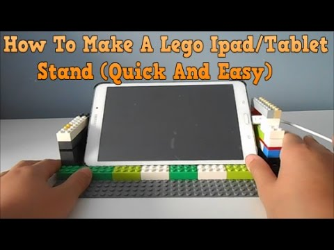 How To Make A Lego Ipad/Tablet Stand (Quick And Easy) - YouTube