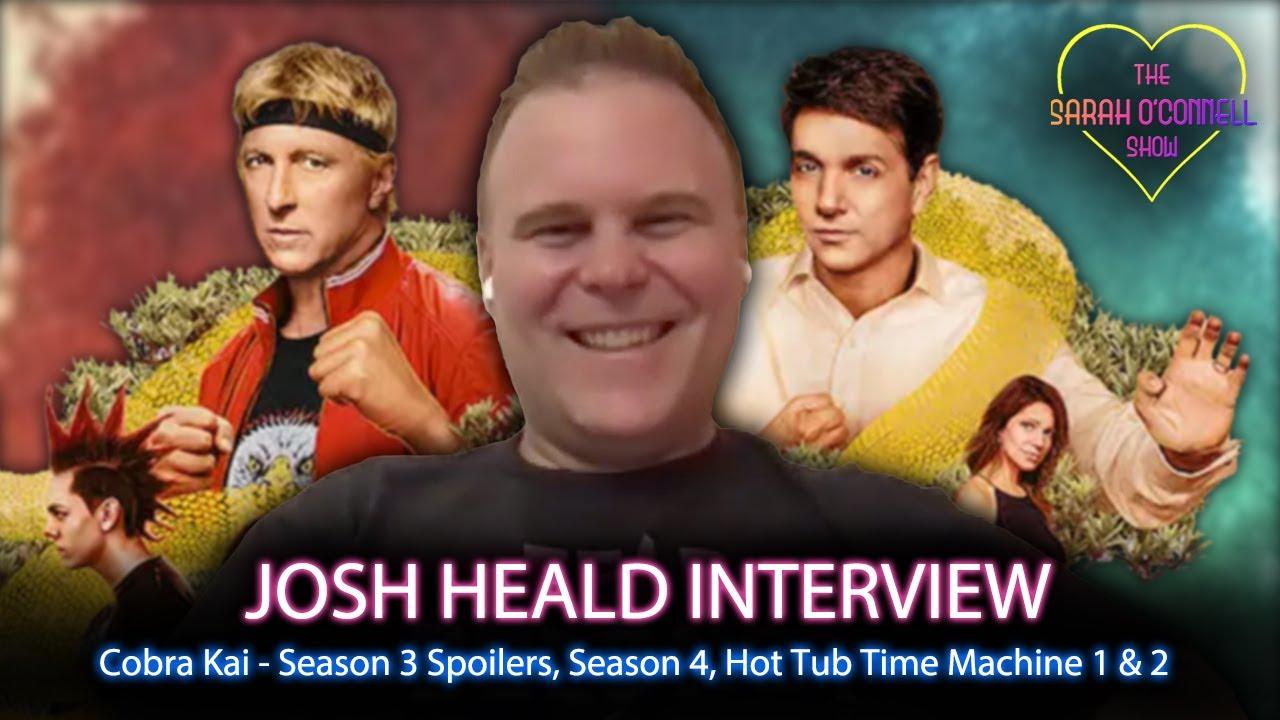 Download Josh Heald interview - Cobra Kai season 3 spoilers, Season 4, Hot Tub Time Machine!