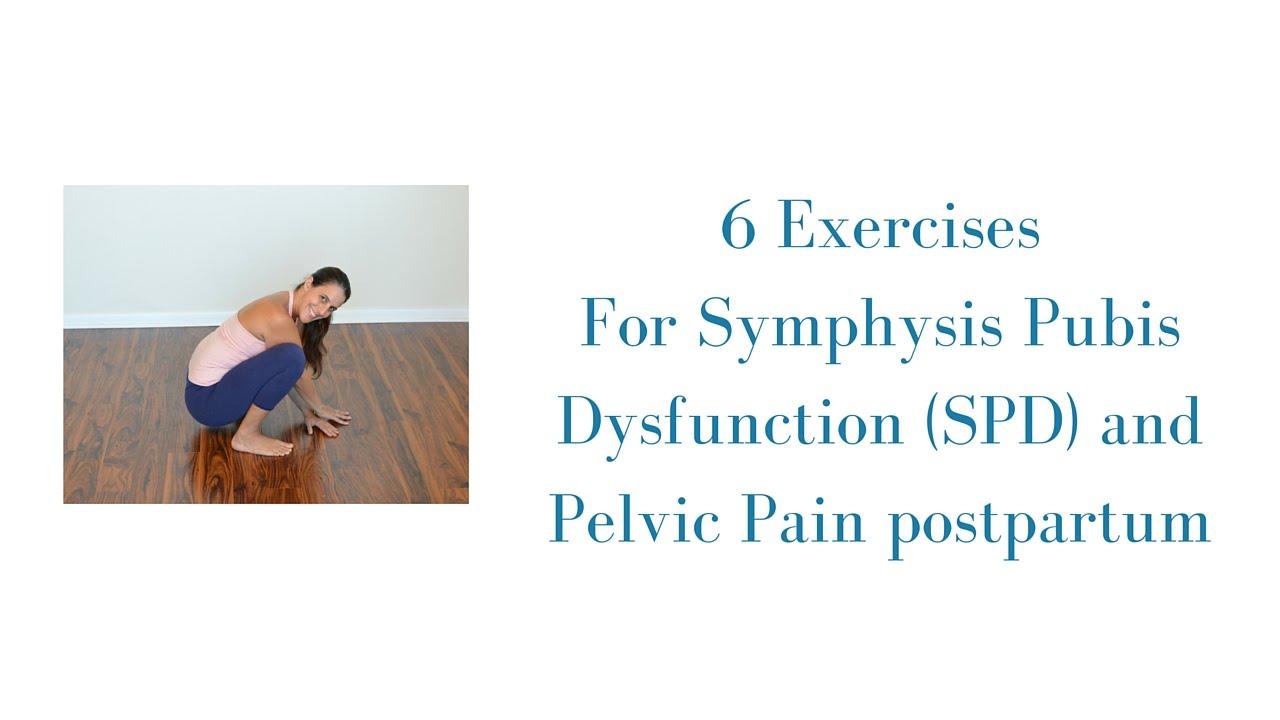 6 Exercises for Symphysis Pubis Dysfunction