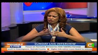 Sunday Live Interview with Tabitha Karanja, CEO, Keroche Breweries