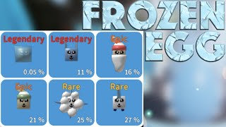 0.05% PET!!! FROZEN EGG | ROBLOX Unboxing Simulator
