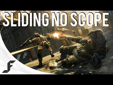 The Sliding No Scope! - Warface Coop Gameplay