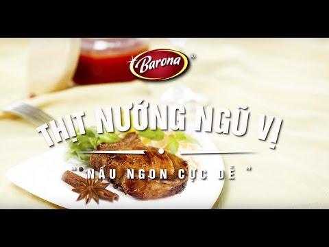 Xốt Gia Vị Hoàn Chỉnh BARONA - Thịt Nướng Ngũ Vị 80g