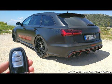 Al volante dell'Audi RS6 da 750cv /1000nm, che BELVA!!