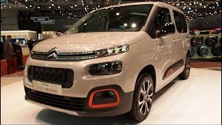 THE ALL NEW Citroen Berlingo 2018 In detail review walkaround Interior Exterior