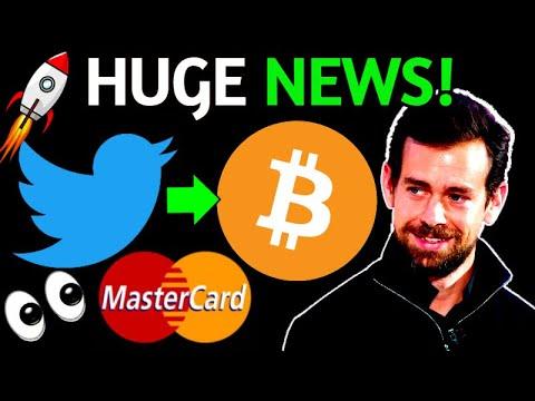 Twitter To Put Bitcoin On It's Balance Sheet \u0026 MasterCard Crypto Payments -   Russia Bitcoin Mining