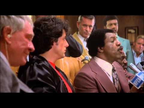Rocky II (1979) - Press Conference | HD