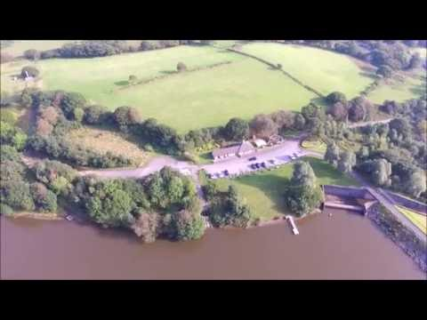 DJI Phantom 3 Standard With Mods, Lliw Reservoir, Felindre , Swansea.