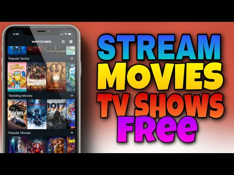 How To STREAM MOVIES And TV SHOWS On MOBILE For FREE!