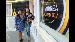 Sonia Morales en Andrea al Mediodia - Programa del 19 de Marzo de 2019