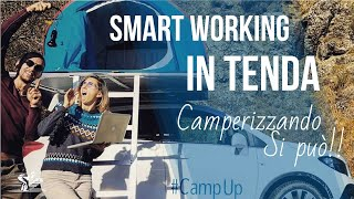 Impianto elettrico su AUTO CAMPERIZZATA - CampUp e lo SMART WORKING in tenda!