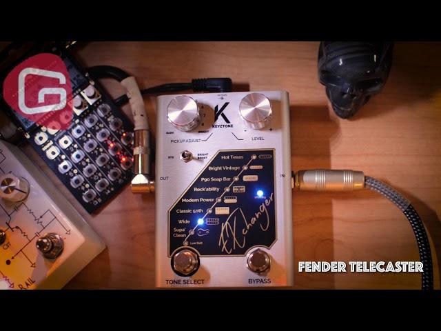 Keyztone EXchanger, un simulateur de micros au format pédale