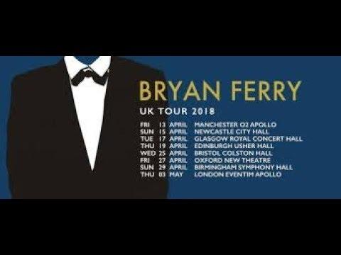 BRYAN FERRY - 19 04 2018 - UK TOUR - USHER HALL EDINBURGH SCOTLAND