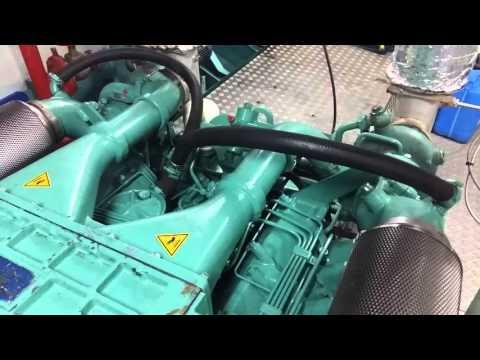 Doosan marine diesel engine V158TI 480PS 1800RPM